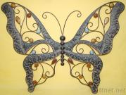 Metal Iron Butterfly Shape Wall Decor