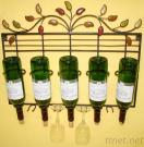 Metal Iron Wine Holder