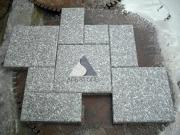 Bainbrook brown granite paving stone