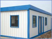 Light Steel Structure Flat-Top Prefabricated Mobile House