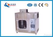 UL94 Plastic Flammability Testing Equipment For Horizontal / Vertical Combustion