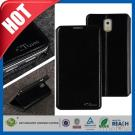 Black Stand PU Folio Leather Cover for Galaxy Note 3