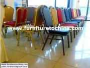 Stackable Hotel Banquet Chair, Ballroom Event Seat, Rental Party Chair, Restaurant Dining Furniture