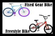 Fixed Gear Bike, FreeStyle Bike