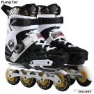 Street Slalon Roller Inline Skate Shoes Free-Line For Men Women (DA1003)