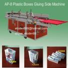 Plastic Clear Boxes Folding And Gluing Machine