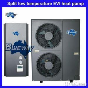 EVI Split Heat Pump