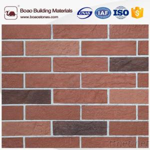 Color Can Customized Decorative Artificial Brick, Veneer Faux Brick Panel