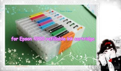 New Product For Epson 4900 Refillable Ink Cartridge