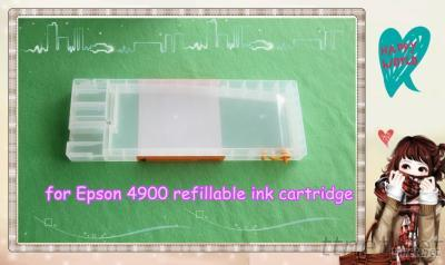 Hot Selling For Epson 4900 Refillable Ink Cartridge