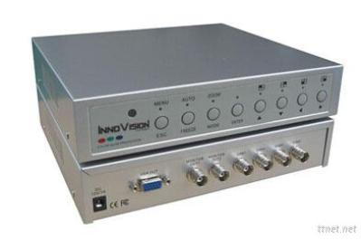 Innovision 4Ch, Color Quad Processor With VGA Output