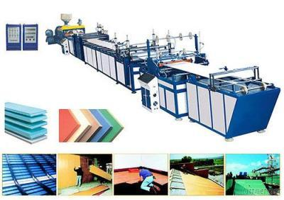 XPS Foamed Sheet Plastic Extrusion Line