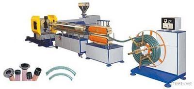 PVC Steel Wire Reinforced Transparent Hose Plastic Machinery