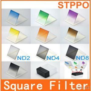 Graduated Camera Digital 10Pcs Square Filter Kit