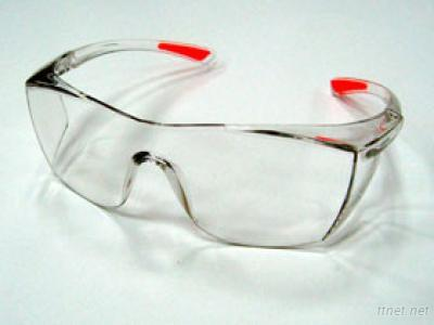 Slip Temples Safety Goggles