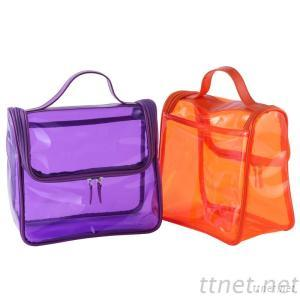 Translucent PVC Cosmetics Packing Bag