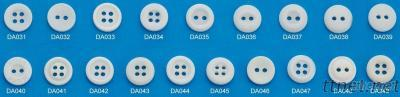 Resin Plastic Clothing Button, Type: Chalk Buttons