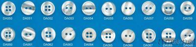 Resin Plastic Clothing Button, Type: Imitation Shell Buttons