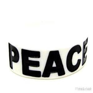 Manufacturer Offer Silicone Wristband With Debossed Logo