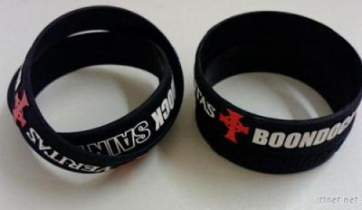 Silicone Wristband With Company Logo To Promotion Gifts
