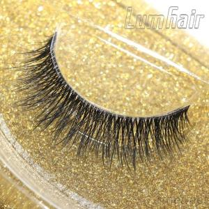Supply Synthetic Fiber Eyelashes Long Thick Fiber Lashes