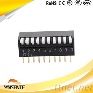 2-12 Position Piano Type Dip Switch