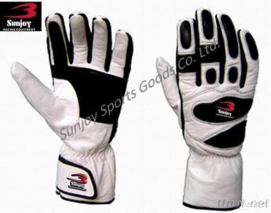 Long Cuff Motorcycle Gloves
