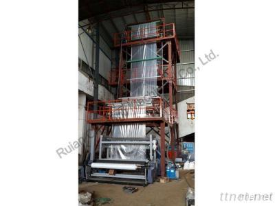 Three-layer Co-extrusion HDPE/LDPE Film Blowing Machine