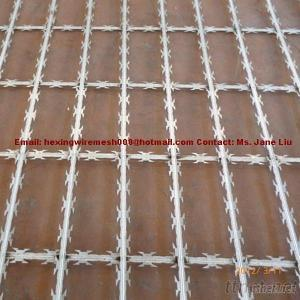 Hot Dipped Galvanized Welded Razor Wire Mesh Fence