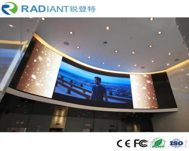 Ultra Thin P2.5 Indoor Curved Flexible LED Screen for TV Wall
