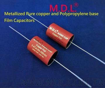 Metallized Pure copper and Polypropylene base Film Capacitors