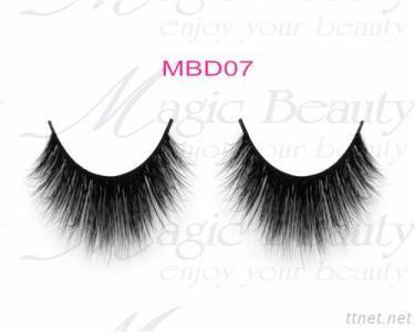 Real 3D Mink Fur Lashes Multilayered MBD07