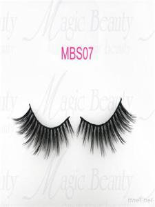 Handmade Synthetic Individual 3D Silk Lashes MBS07