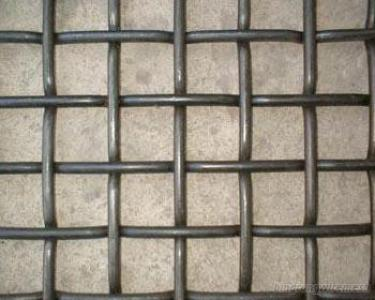 Good Quality Mine Sieving Mesh Crimped Wire Mesh Flat Top Screen