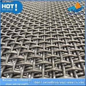 China Mine Screen Mesh Crimped Wire Mesh Industrial Screen