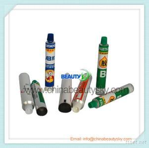 Collapsible Aluminum Tubes For Adhesive Glues Packaging Tubes, Pigment Tubes, Painting Oil Tubes, Watercolor Pen Tubes