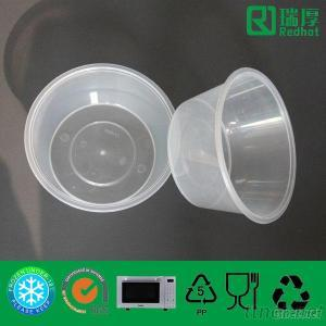 PP Disposable And Microwavable Food Container 1250Ml