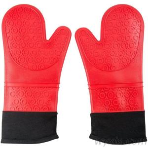 Silicone Oven Mitts Heat Resistant Oven Gloves