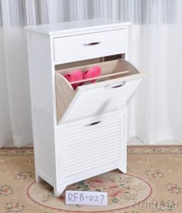 Wood Shoes Cabinet