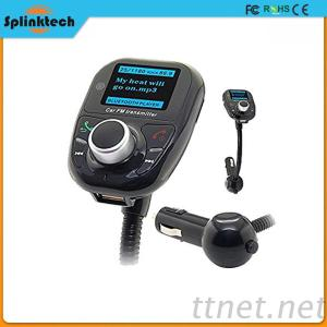 T10 Stereo Handsfree Car Kit Wireless Bluetooth Car Charger Mp3 Player FM Transmitter With Dual Port Usb Car