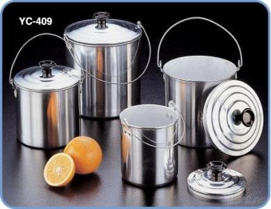 4PCS Billy Can Set for Outdoor Camping