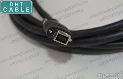 1394B 9Pin IEEE Firewire Cable For Industrial Camera And Frame Grabber