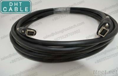 9 Pin IEEE 1394 Firewire Cable Special for Machine Vision and Industrial Camera