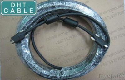 9P - 6P IEEE 1394 Firewire Cable 1394B to 1394A 15 Meter 50ft Long Distance for Industrial