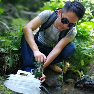 Multi Function Mini Outdoor Water Filter Factory