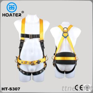Easy Adjustable Tongue Buckles Safety Harness Belt