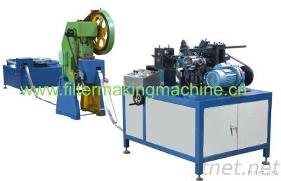 Oil Filter Spiral Centre Tube Forming Machine