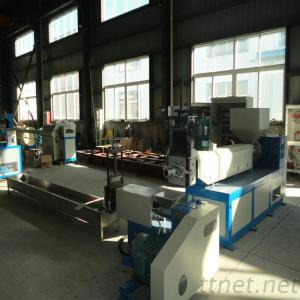 Plastic Recycling And Pelleting Machine