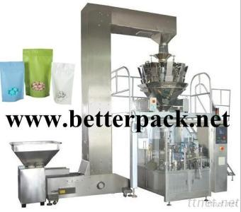 Automatic Doypack Coffee Beans Weighing Packaging System