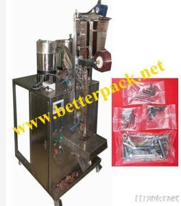 Automatic Screws Bolts Counting Plastic Bag Packing Machine